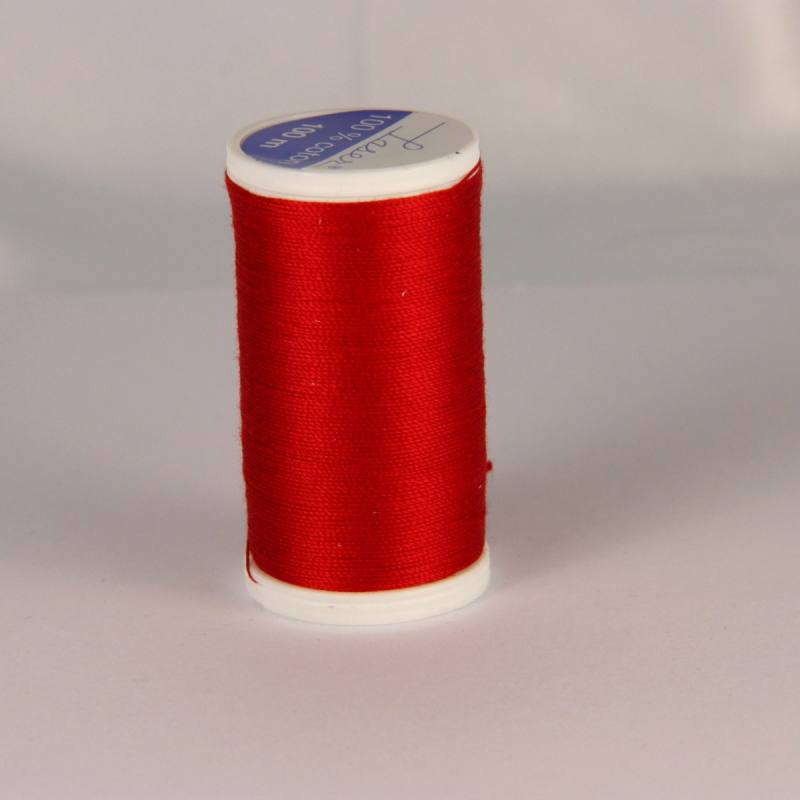 Fil coton laser rouge 3504