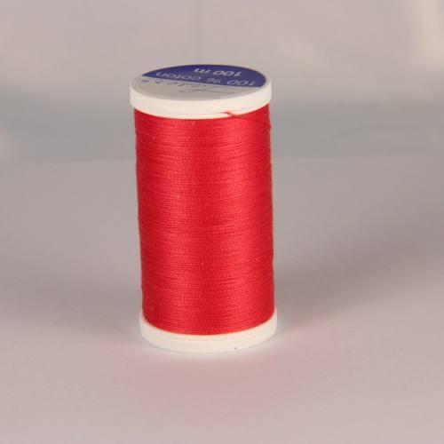 Fil coton laser rose 3517