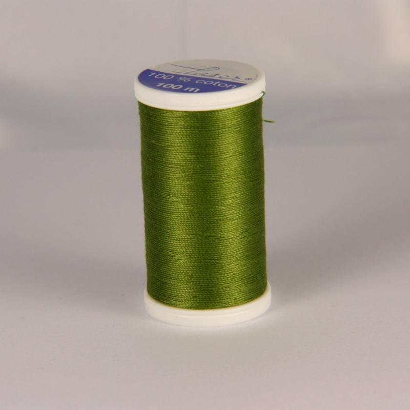 Fil coton laser vert 3740