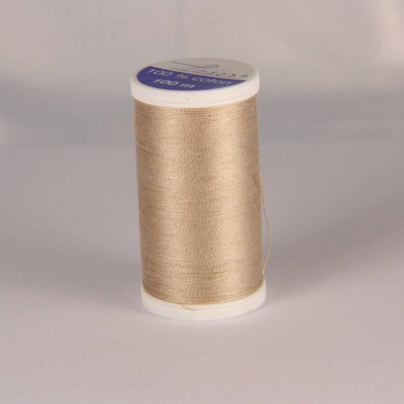 Fil coton laser beige 3806