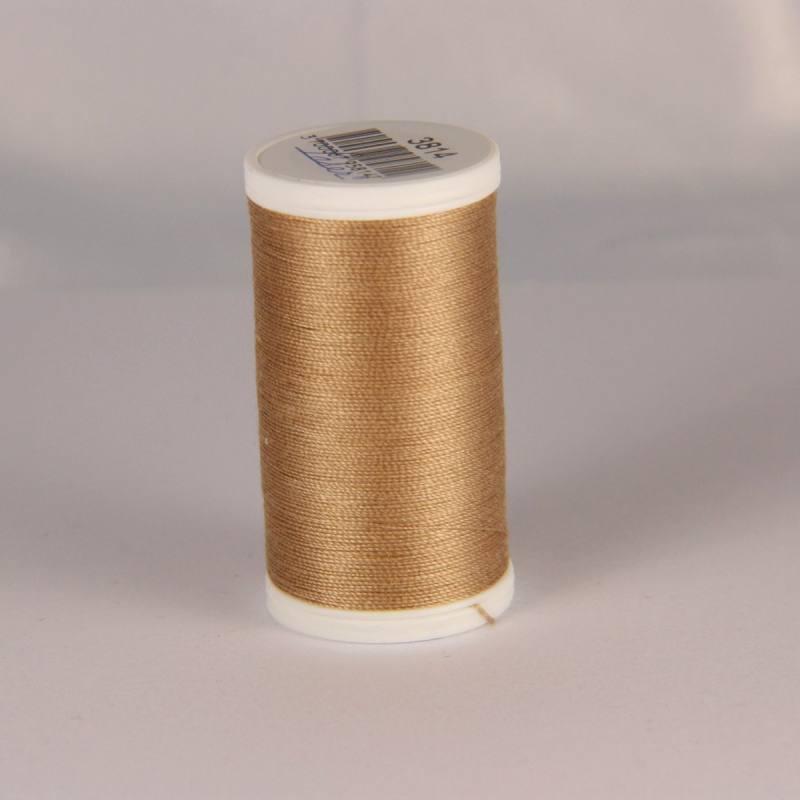 Fil coton laser marron clair 3814