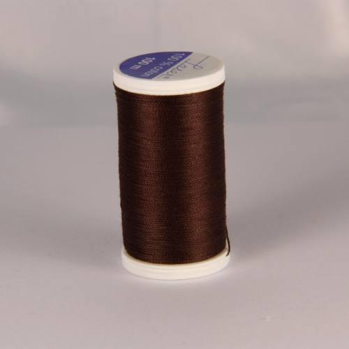 Fil coton laser marron 3870