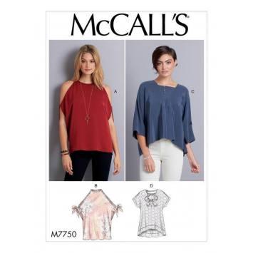 Patron McCall's M7750 : Hauts 34-42
