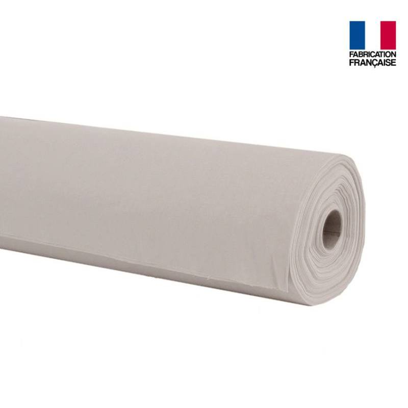 Rouleau 20m Toile coton ignifugée M1 grège