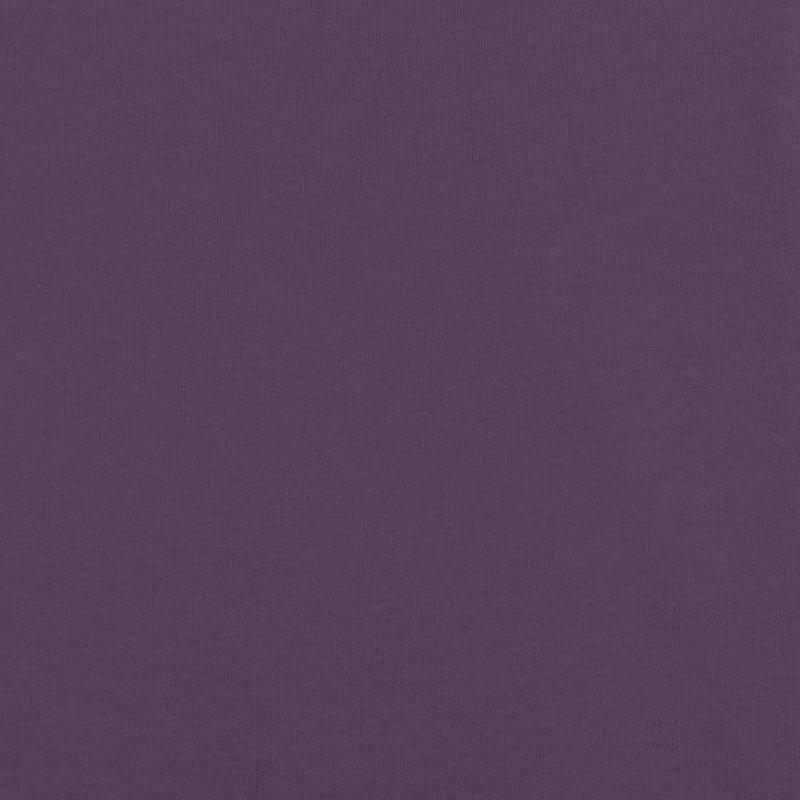 Tissu molleton uni violet