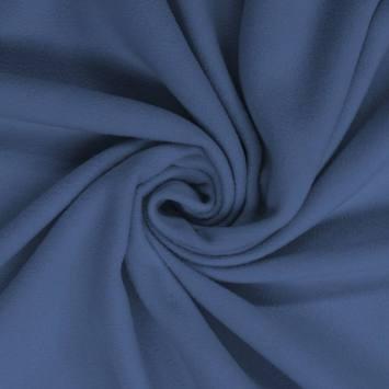 Polaire mate unie bleue