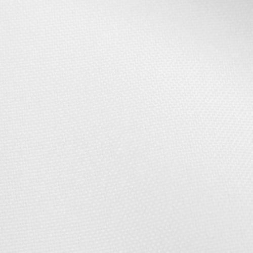 Rouleau 20m Burlington infroissable Oeko-tex blanc