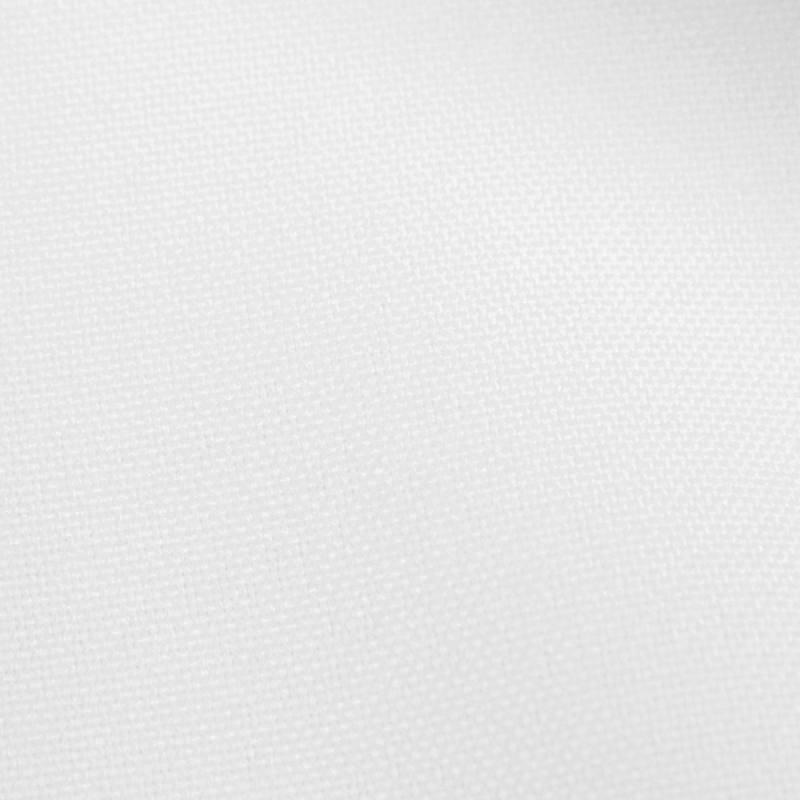 Rouleau 25m Burlington infroissable Oeko-tex blanc