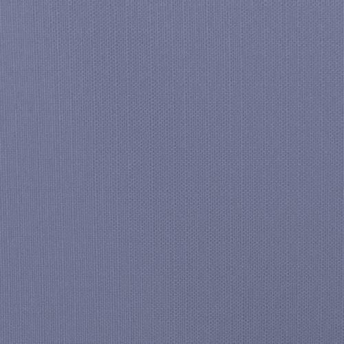 Toile polycoton aspect lin bleu jean