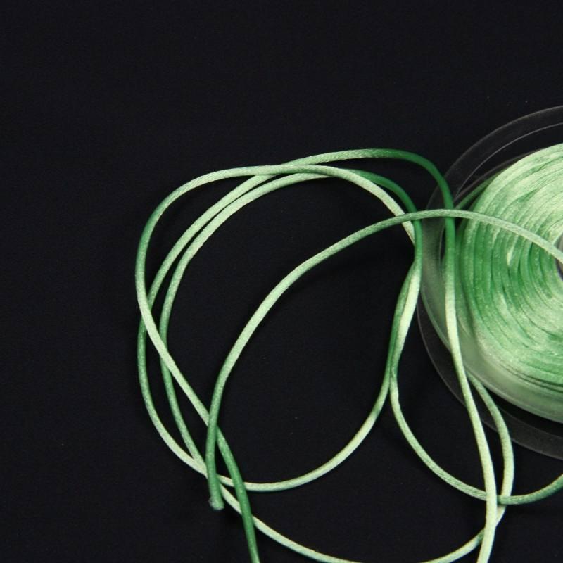 Cordon queue de rat vert amande