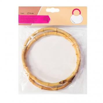 Anses de sac bambou 15 cm
