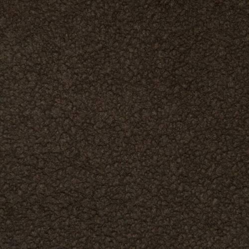 Fausse fourrure brun effet peau lainée