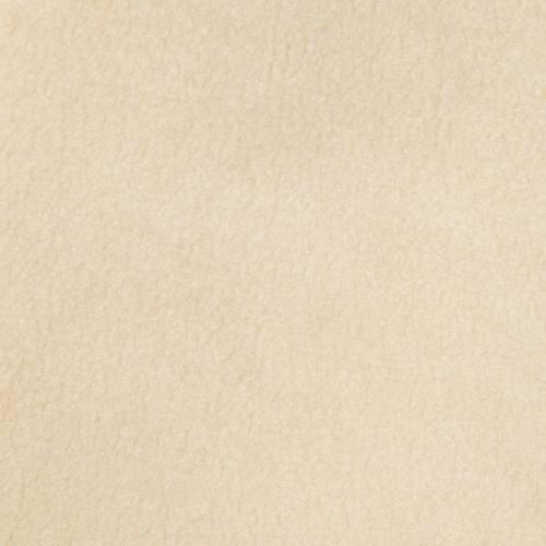 Fausse fourrure beige effet peau lainée