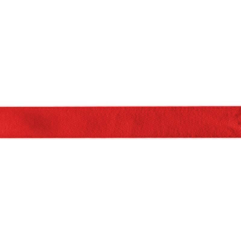 Ruban sergé rouge 11 mm