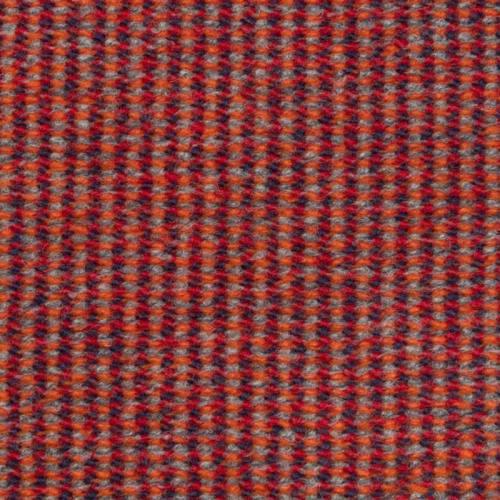 Tissu lainage effet maille couleurs automnales