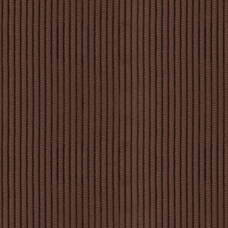 Velours grosses côtes chocolat