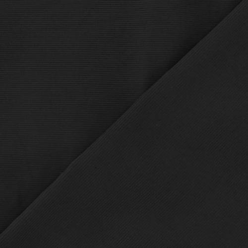 Velours côtelé milleraies noir