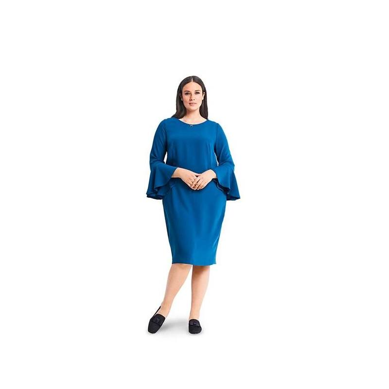 Patron Burda 6389 : Robe Taille 46-56