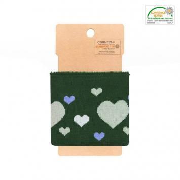 Bord-côte vert à coeur vert