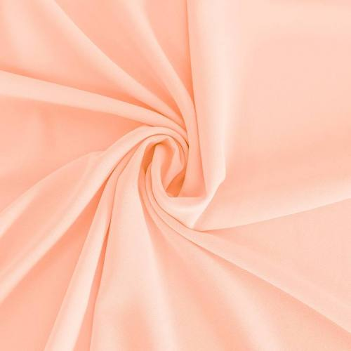 Mousseline crêpe pearl rose dragée