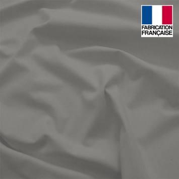 Toile coton ignifugée M1 gris anthracite