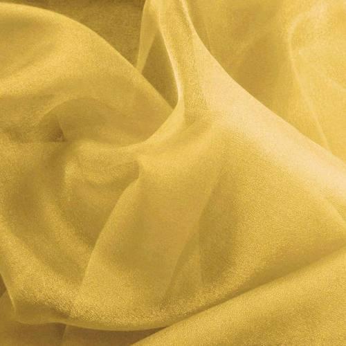 Organza jaune mimosa