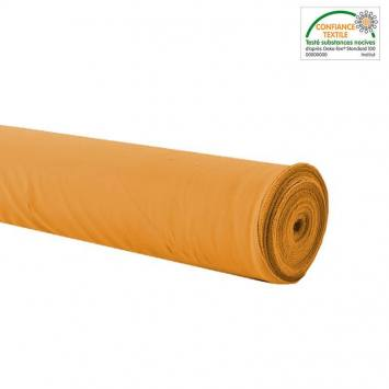 Rouleau 27m burlington infroissable Oeko-tex ocre
