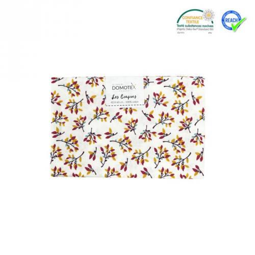 Coupon 40x60 cm coton hosta prune