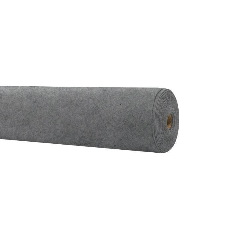 Rouleau 15m feutrine gris chiné 91cm