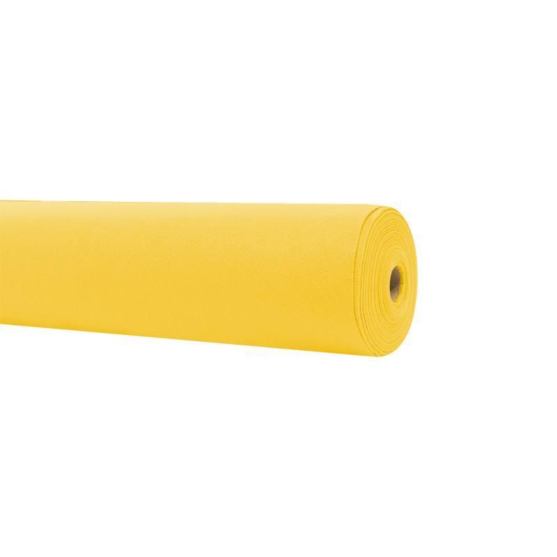Rouleau 15m feutrine jaune canari 91cm