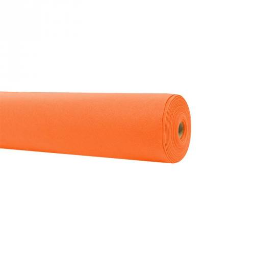 Rouleau 15m feutrine orange 91cm