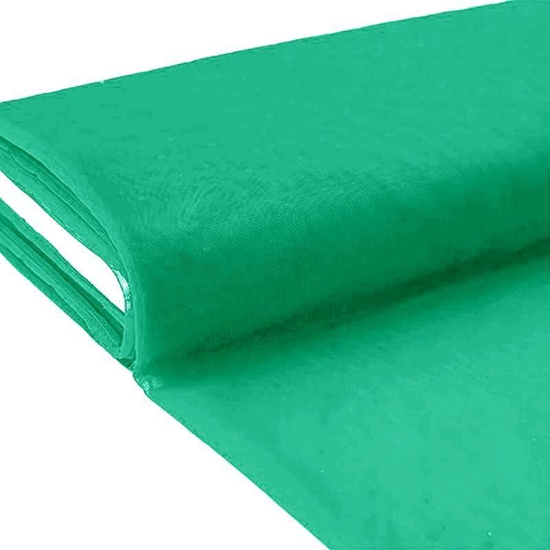 plaquette 25m tulle d co vert profond grande largeur tissus price. Black Bedroom Furniture Sets. Home Design Ideas
