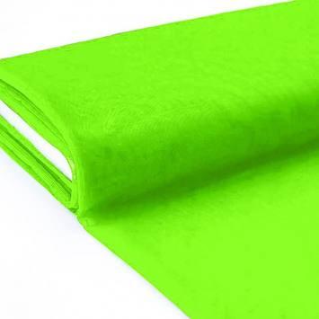 Plaquette 25m Tulle déco vert fluo grande largeur