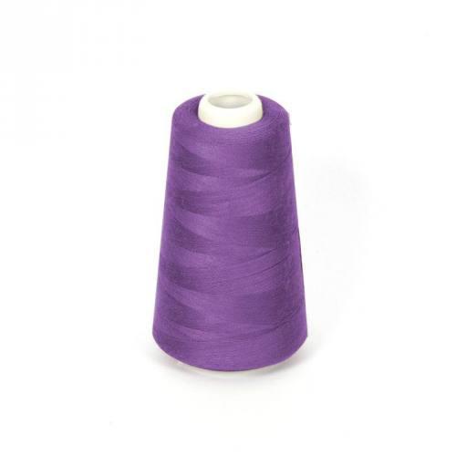 Cône de fil à surfiler et à coudre violet