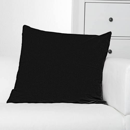 Toile coton noire ébène grande largeur