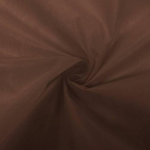 Non-tissé teint brun