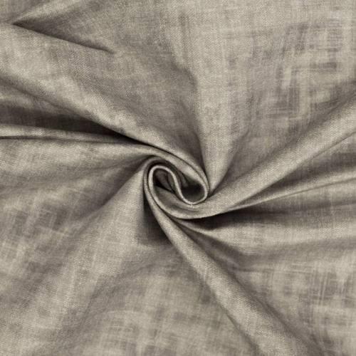Velours ras gris aspect lin