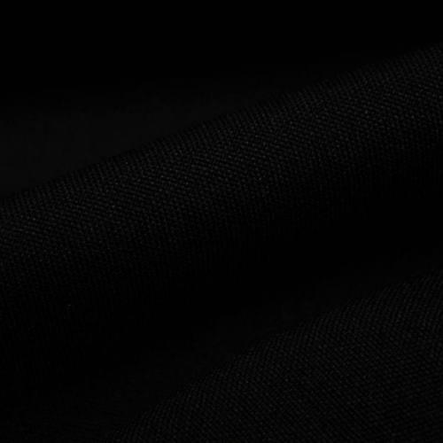 Rouleau 30m burlington infroissable Oeko-tex noir grande largeur
