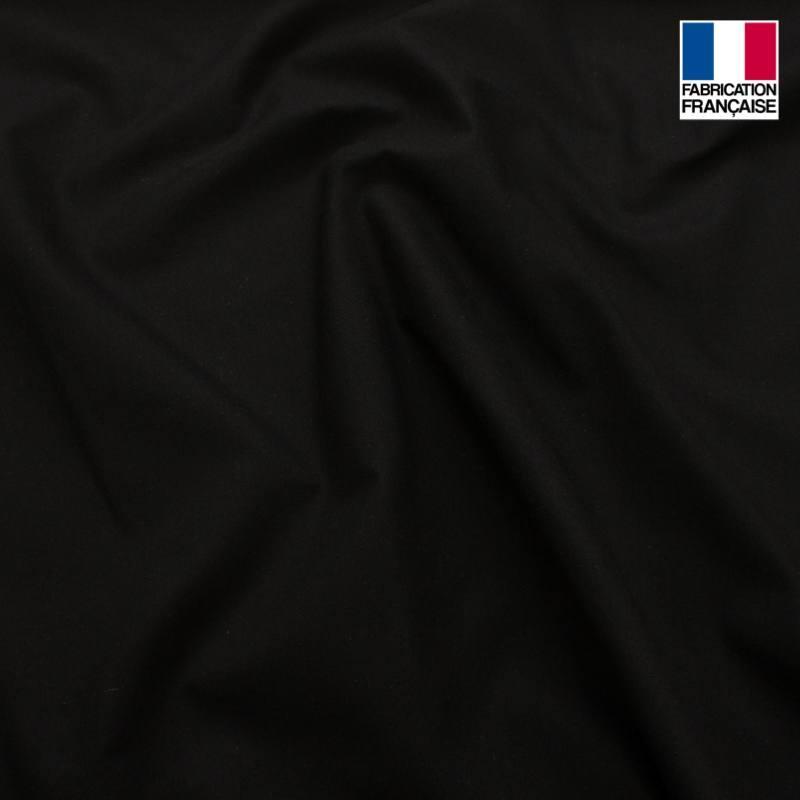 Toile coton ignifuge M1 noir