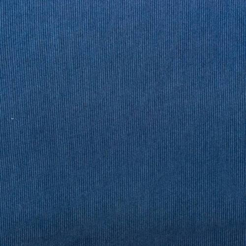Tissu chambray viscose effet jean fines rayures effet surpiqûres