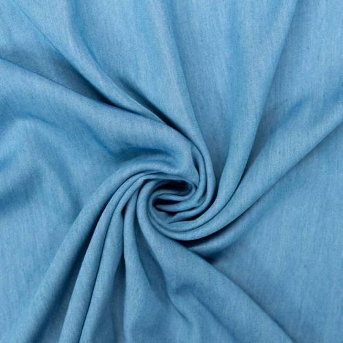 Tissu jean lyocell bleu clair