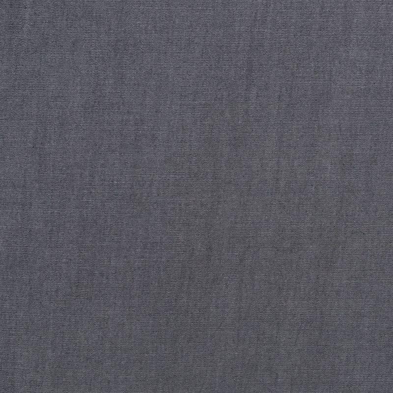 Tissu chambray lyocell effet jean tissage blanc et noir