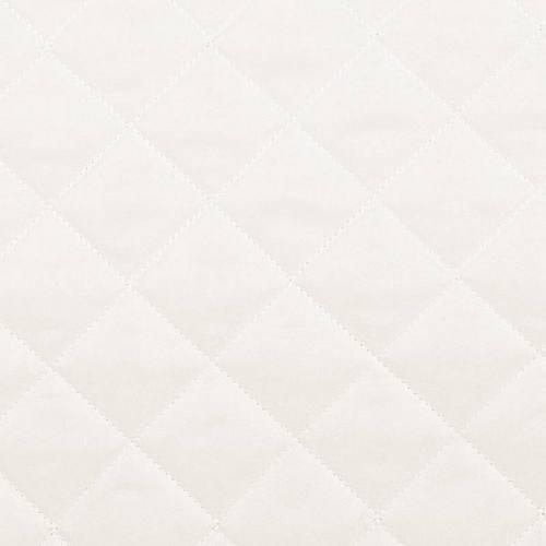 Tissu matelassé ivoire