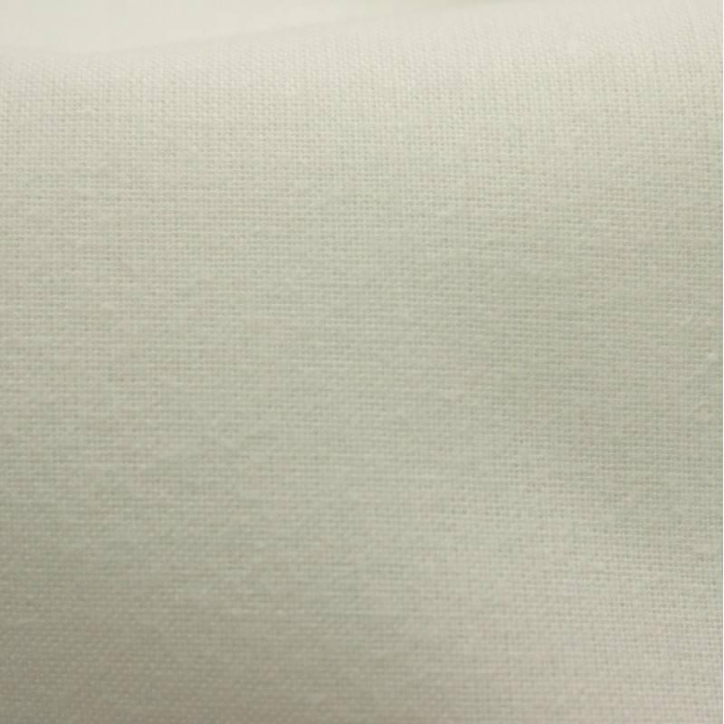 Toile coton ignifuge M1 blanc