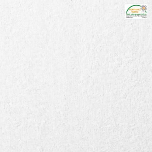 Tissu éponge blanc 450gr