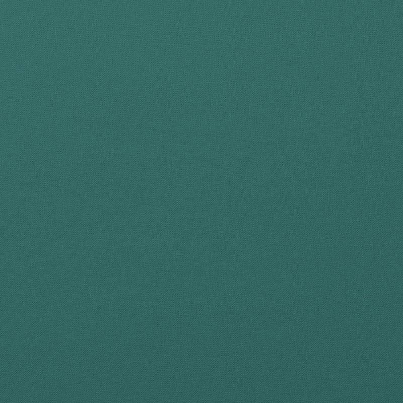 Coton uni couleur bleu canard