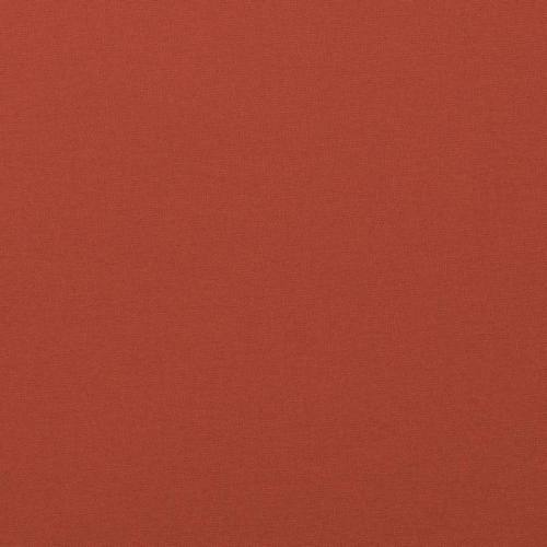 Coton rouge terracotta uni oeko-tex