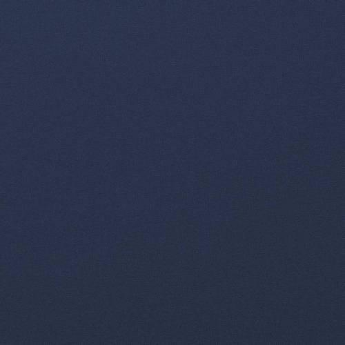 Tissu coton bleu marine grande largeur