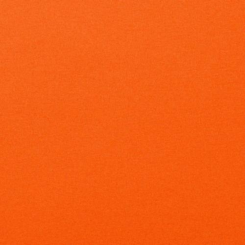 Coton orange uni oeko-tex