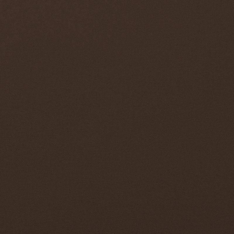 Coton uni couleur marron